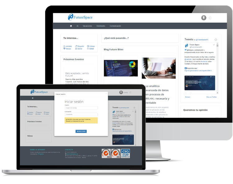 Intranet Future Space - Portales WEB