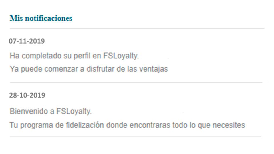 FS Loyalty - Venta cruzada