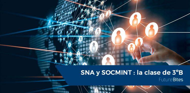 SNA y SOCMINT, la clase de 3ºB